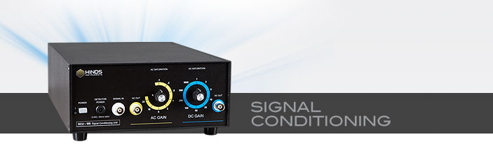 signal conditioning unit hinds instruments